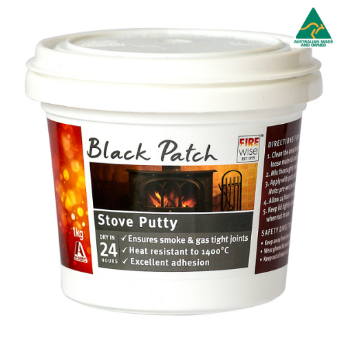 Black Patch Stove Putty From Mr Stoves Brisbane