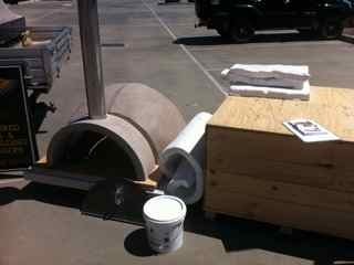 Diy Pizza Oven Kit Contents