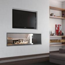 Double Sided Slimline Firebox Range