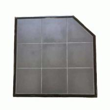 Charcoal Tile Hearth