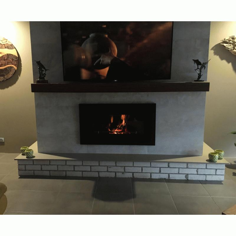 fireproof tiles for fireplace