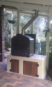 Pizza Oven and flue