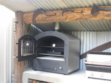 La Bella wood pizza oven